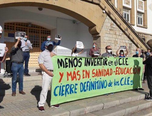 CIEs NO lamenta el inicio de la construcción del nuevo centro en Botafuegos.