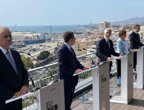 Los países del Mediterráneo exigen a Europa desde Málaga «solidaridad y humanidad» para hacer frente a la inmigración ilegal